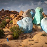 farbige Felsen bei Tafraoute