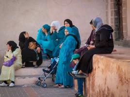 Straßenszene in Essaouira