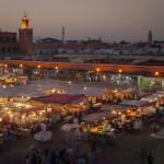 Djemma-el-Fna Marokko