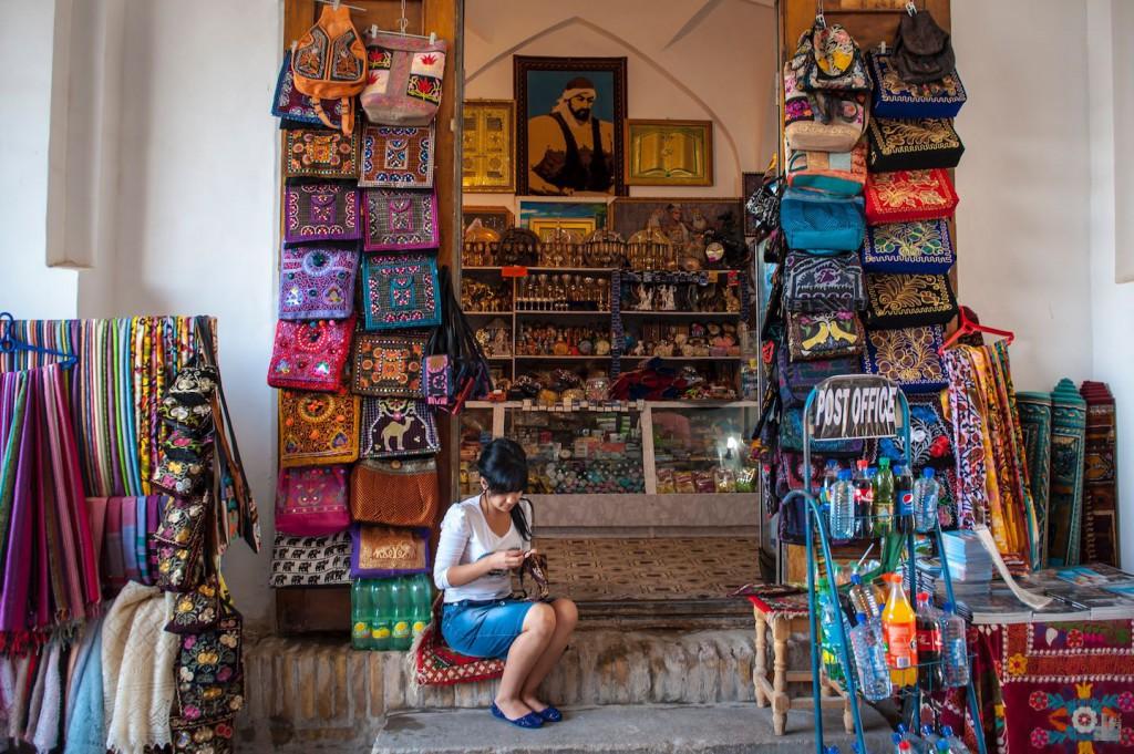 Souvenier Laden in der Altstadt von Chiwa