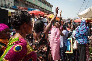 Central Market Kumasi Ghana