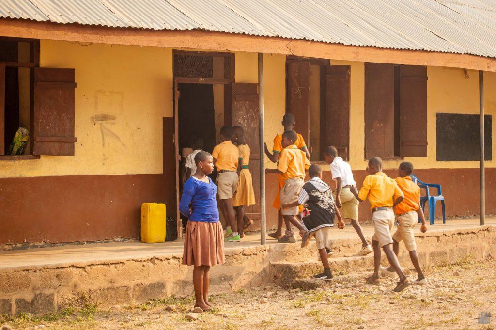Schule in Tafi Atome