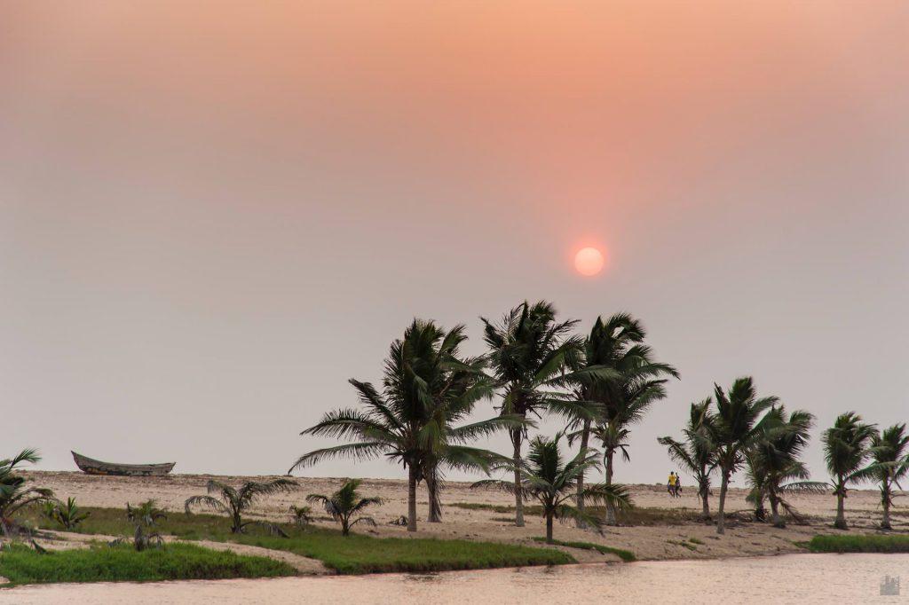 Strand von Dzita / Ghana