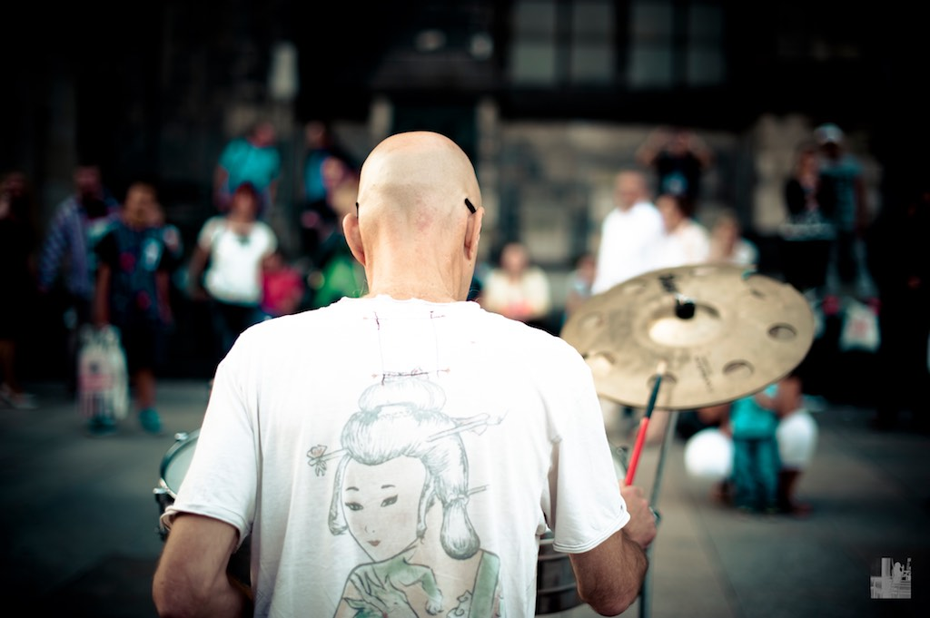 spontane Drumsession