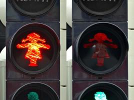 """Traffic light - female (aka)"" von André Karwath aka Aka - Eigenes Werk. Lizenziert unter CC BY-SA 2.5 über Wikimedia Commons."